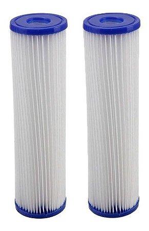 2 Elemento Filtrante Refil Lavável P/ Filtro 5 Micra