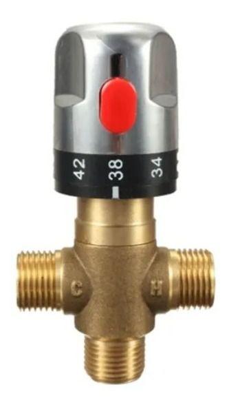 Misturador Água Quente Fria Automático Válvula Termostato