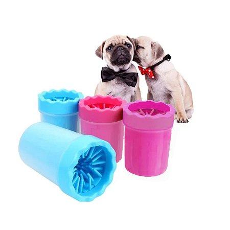 Limpa Patas Patinhas De Cachorro Cão Pet Copo