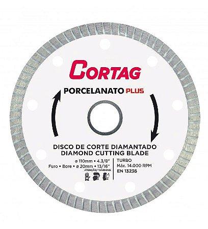 Disco De Corte Diamantado Turbo Porcelanato Plus 1.4 Mm
