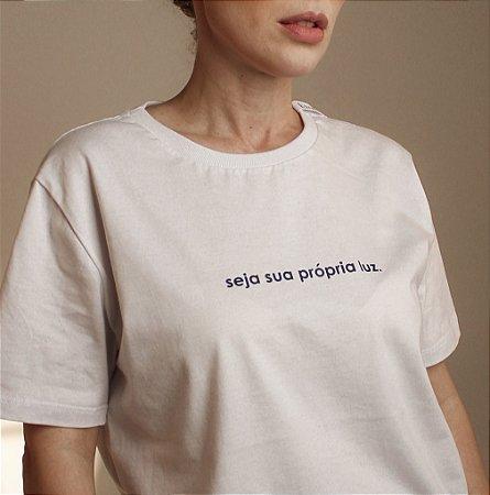 Camiseta Luz branca