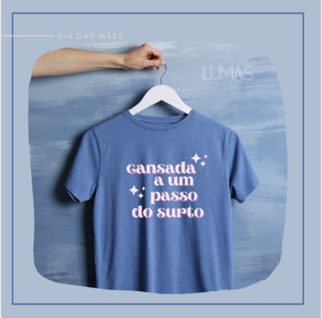 Camiseta Surto azul