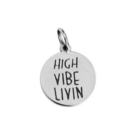 Pingente High Vibe - Prata 925