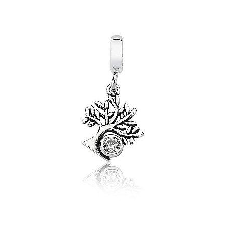Berloque Árvore da Vida e Família - Prata 925
