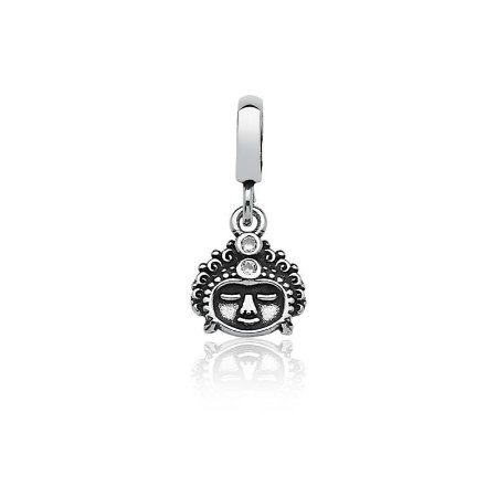 Berloque Shiva - Prata 925