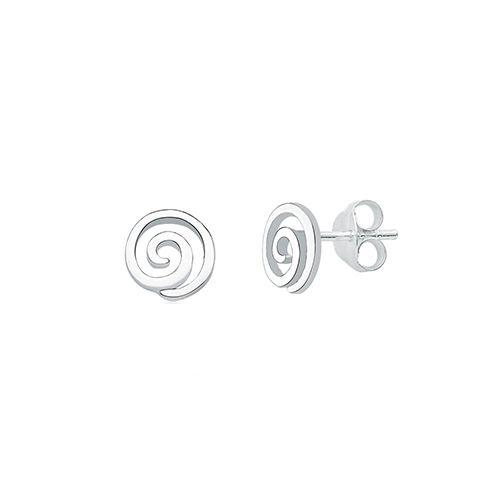 Brinco Espiral - Prata 925