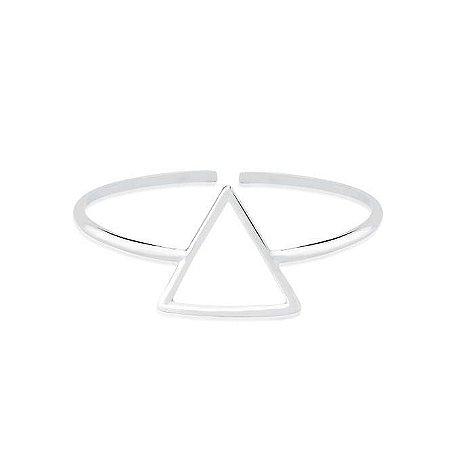 Bracelete Triangulo Vazado - Prata 925