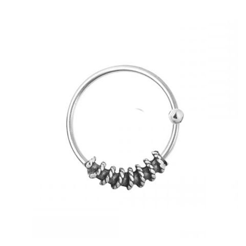 Piercing Furo Trança - Prata 925