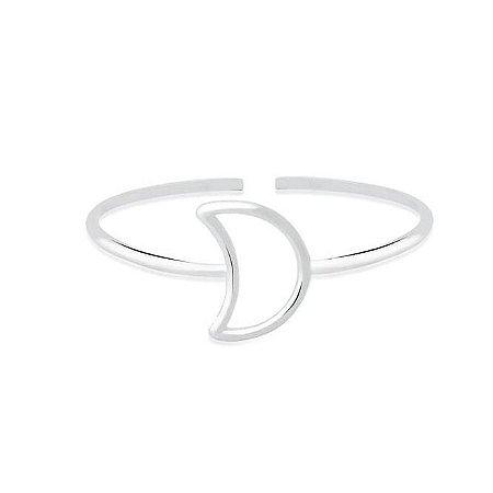 Bracelete Lua Vazada - Prata 925