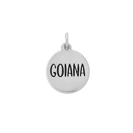 PINGENTE MEDALHA GOIANA - PRATA 925