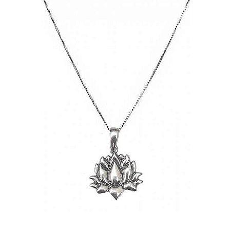 Tornozeleira Lotus - Prata 925