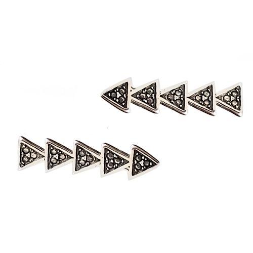 Ear Cuff Seta - Prata 925