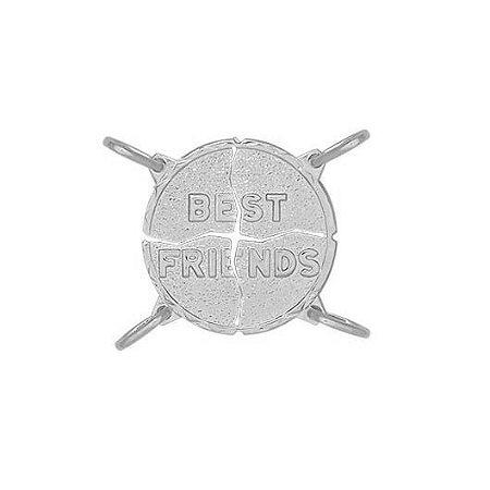 PINGENTE MELHORES AMIGAS - PRATA 925