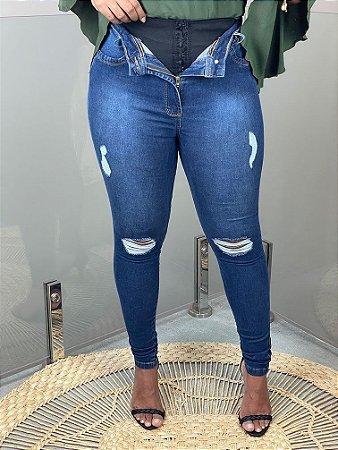 Calça Jeans Cinta Agnes