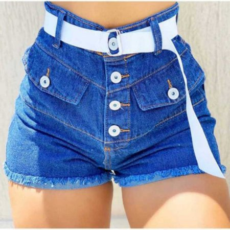 Short Jeans Cintinho White