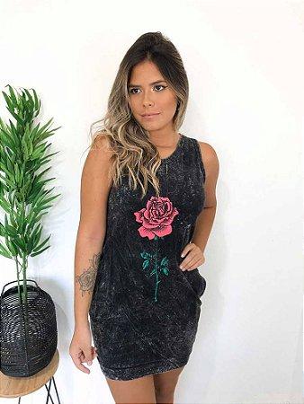 Vestido Estonado Rose