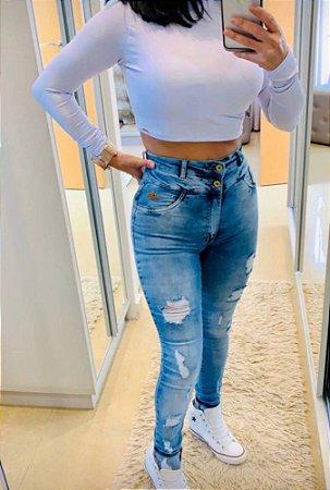 Calça Jeans Cós Duplo (Carmen)