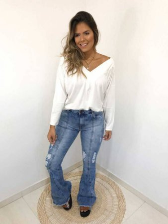 Calça Jeans Flare Carmen II