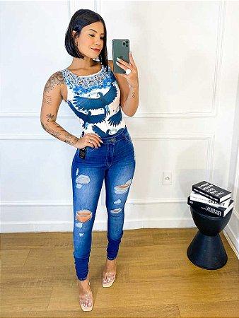 Calça Jeans Rasgos (Carmen)