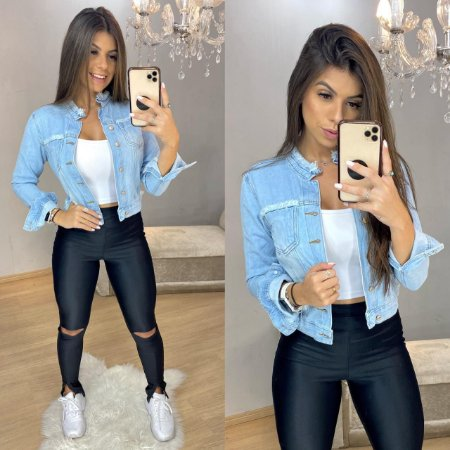 Jaqueta Jeans Clear II