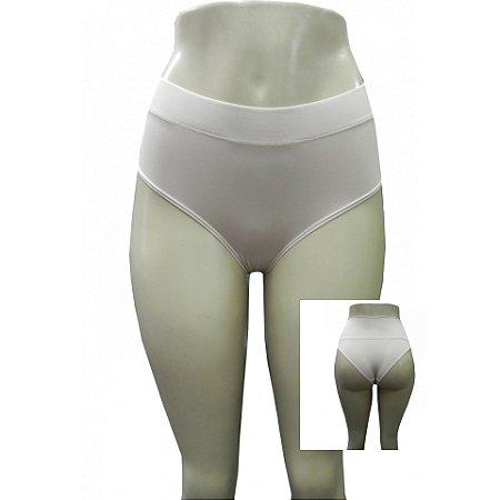 Calcinha Conforto com Elástico Frontal Reforçado - Nude
