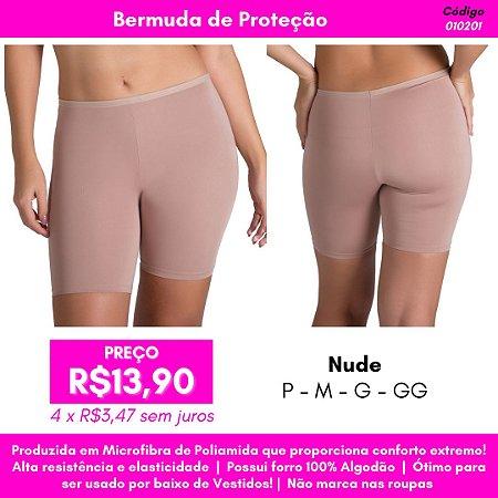Bermuda de Proteção Lisa - Nude