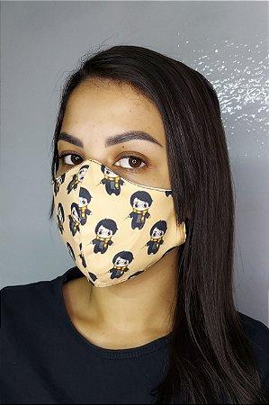 Máscara de Proteção Dupla Sublimada - Harry Potter