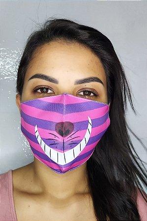 Máscara de Proteção Dupla Sublimada - Sorriso