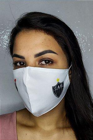 Máscara de Proteção Dupla Sublimada - CAM