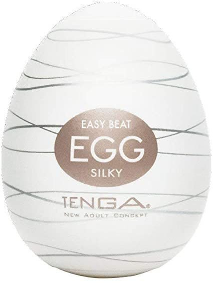 Masturbador Masculino Egg Easy Beat com Textura - Silky