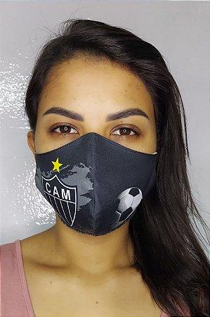 Máscara de Proteção Dupla Sublimada - Atletico