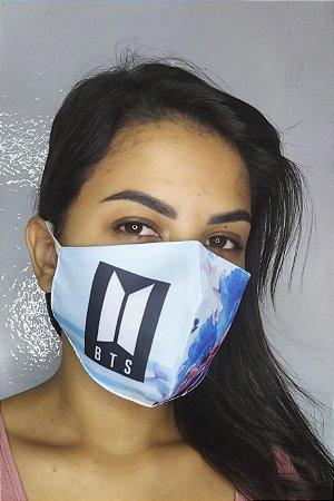 Máscara de Proteção Dupla Sublimada - BTS