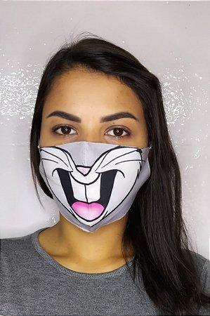 Máscara de Proteção Dupla Sublimada - Perna Longa
