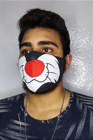 Máscara de Proteção Dupla Sublimada - Frajola