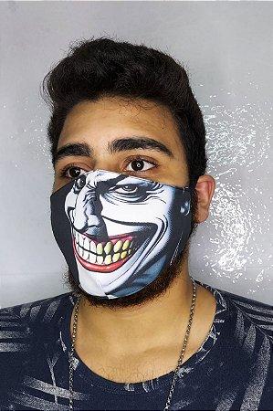 Máscara de Proteção Dupla Sublimada - Coringa