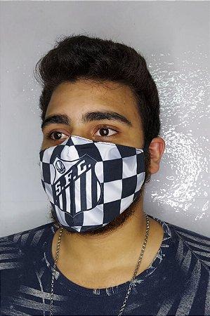 Máscara de Proteção Dupla Sublimada - Santos