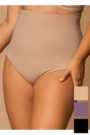Cinta Alta Fio Abdominal Modeladora Plus Size - Cores Variadas