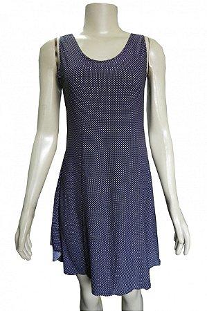 Camisola Vestidinho - Preto Poá