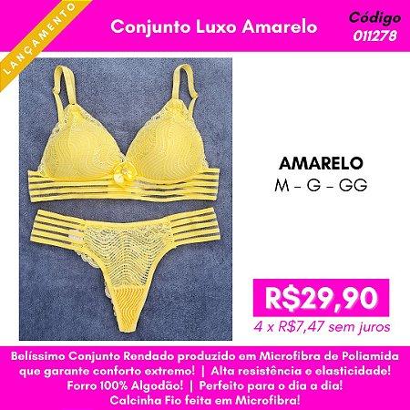 Conjunto Luxo - Amarelo