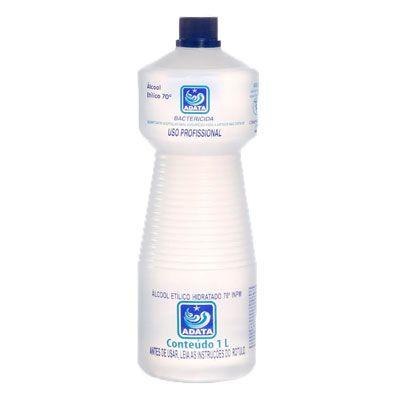 Álcool Líquido 1L 70% Adata