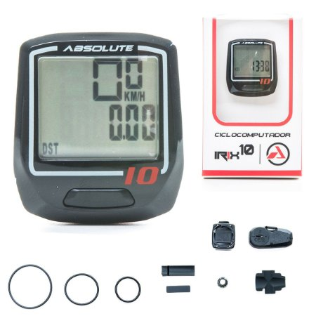 Ciclocomputador Absolute Irix 10W preto sem fio - RIDE SPORTS - o mundo da  bike e do ciclista