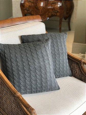 Capa de Tricô Para Almofada ou Travesseiro Luxo Espanha