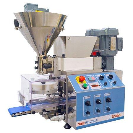 Máquina de Fazer Salgados e Doces New Piccola Duplo Recheio 220V