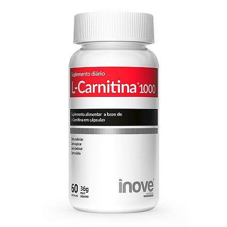 L-Carnitina 1000 Inove Nutrition 60 Cápsulas