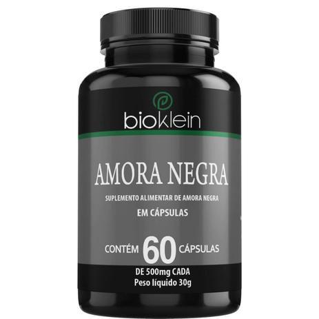 Amora Negra - 60 Cápsulas - Bioklein