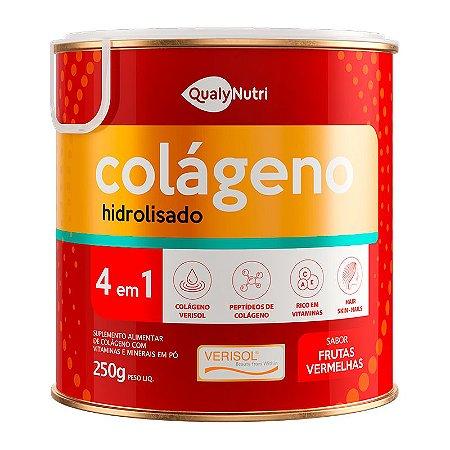 Colágeno Verisol 4em1 250g Frutas Vermelhas - QualyNutri