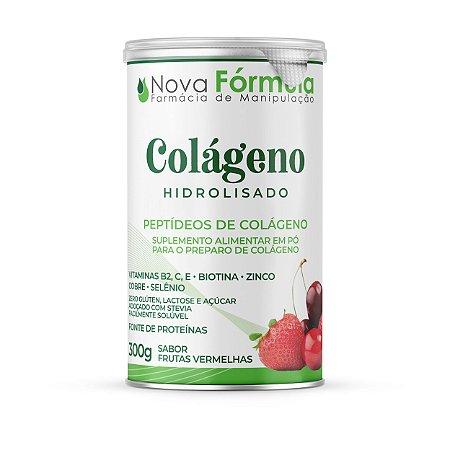 Colágeno Hidrolisado 300g - Peptídeos De Colágeno