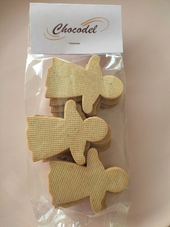 Biscoito Ginger Menina  Natal - Especiarias 260g (20 unidades) - 8cm x 6,5cm