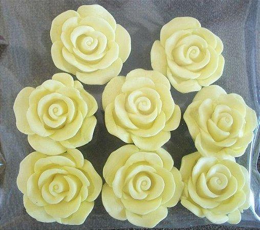 Confeito Rosa G  (2,5cm) 10 unidades