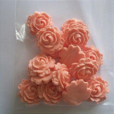 Confeito Rosa p/ doces - 2cm - 14 unidades